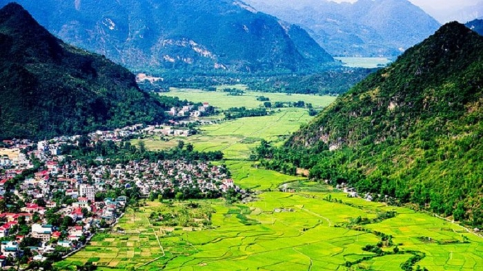 Một góc núi rừng Mai Châu. Hòa Bình