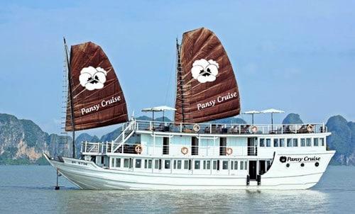 Du lịch Hạ Long: Du thuyền Pansy Cruise 3 ngày 2 đêm