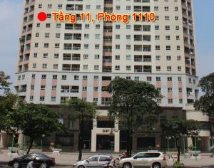 Công ty Du lịch Khát Vọng Việt tại P1110, tầng 11 của Tòa 34T