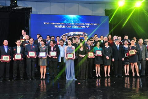 top 100 phong cach doanh nhan 2011