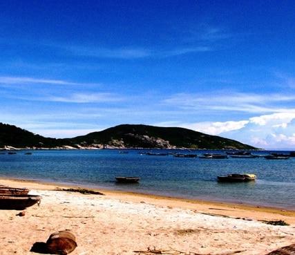 Biển Cù Lao Chàm được khách tham quan rất yêu thích