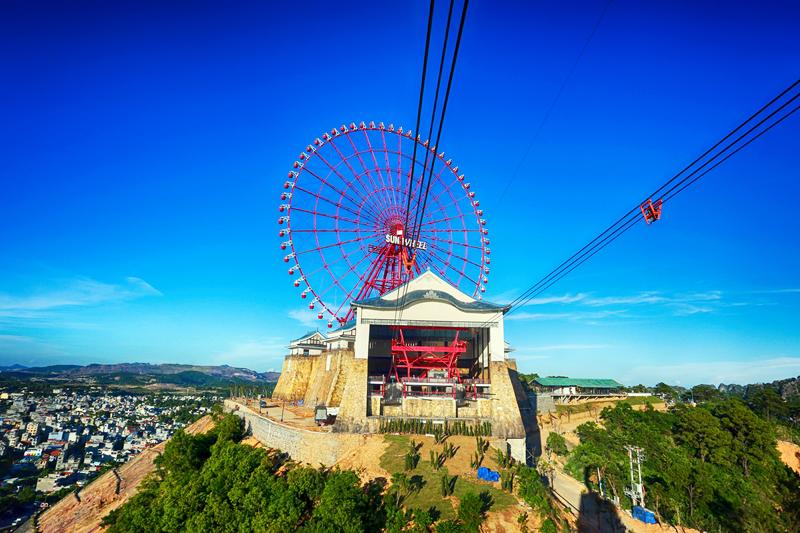 Cáp treo Nữ Hoàng của tổ hợp giải trí Sun World Hạ Long Park