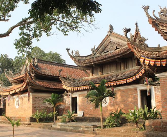 Một trong những ngôi chùa cổ của Đường Lâm