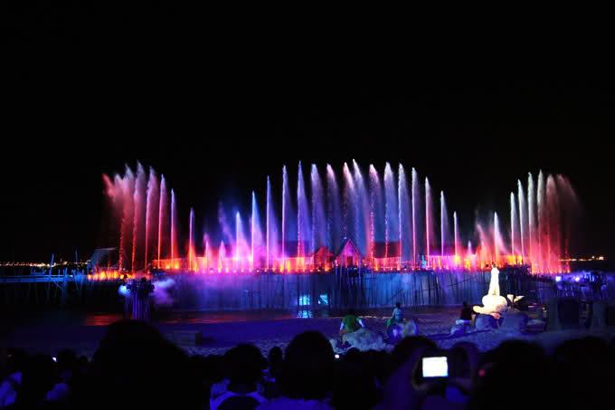Nhạc nước tại Tuần Châu