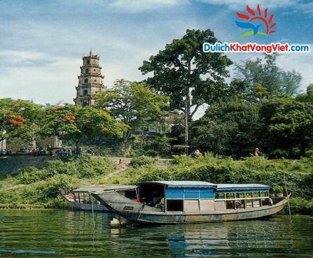 Chùa Thiên Mụ Sông Hương