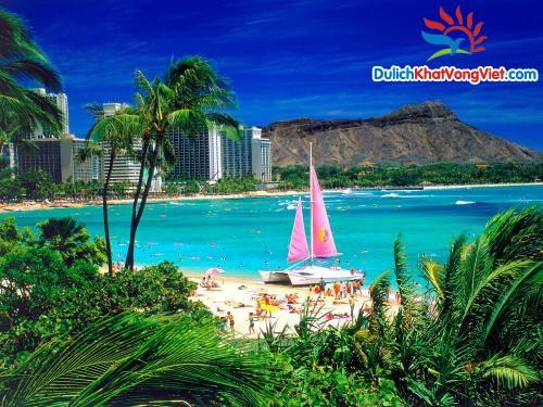 Du lịch Mỹ: TP HCM – Vui hè trên đảo Hawai 7 ngày 6 đêm