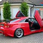 Thuê xe cưới mui trần Toyota Celica