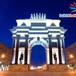 Du lịch Nga:  Khải hoàn môn Kutuzovsky  9 ngày 8 đêm