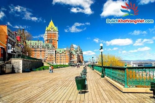 Du lịch Canada: Sài Gòn – Quebec – Victoria giá rẻ