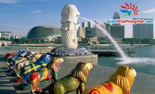 Du lịch Singapore – Phim Trường Universal Studio 5 ngày