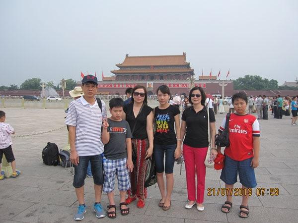 Gia đình chị Liên đi Bắc Kinh – Thượng Hải