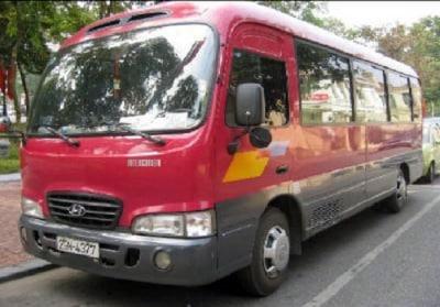 Thuê xe Hyundai County 24 chỗ tại Hà Nội