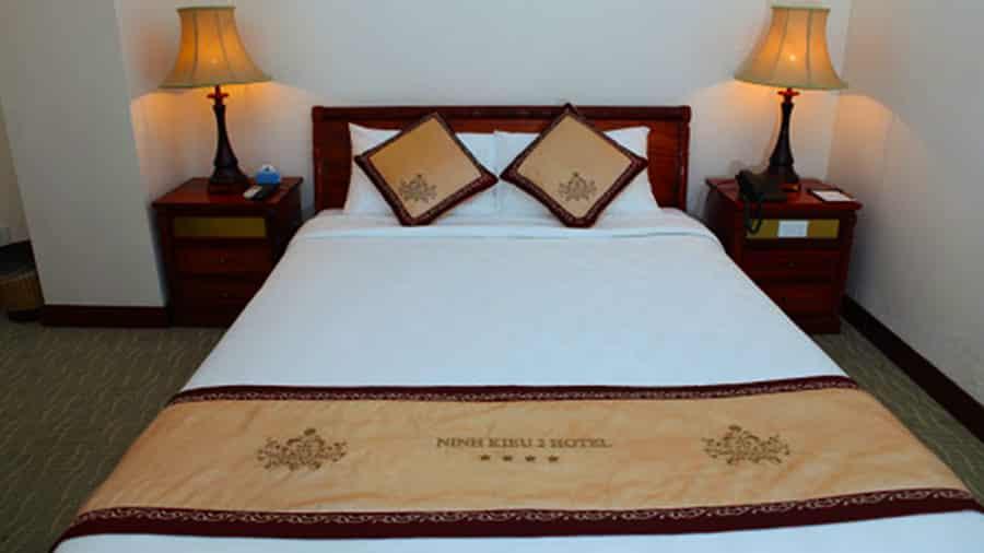 Các loại phòng ngủ tại khách sạn Ninh Kiều 2 đều đầy đủ tiện nghi