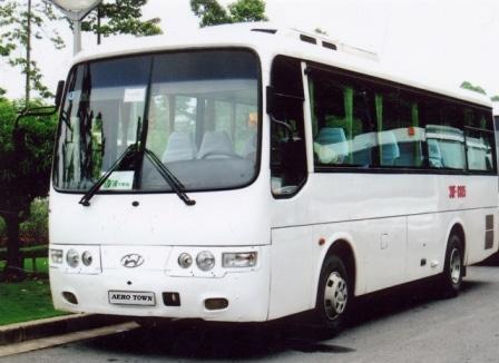 Thuê xe du lịch Hyundai 35 chỗ