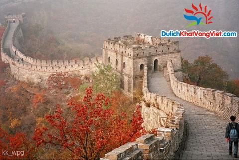 Du lịch Trung Quốc – Bắc Kinh – Vạn Lý Trường Thành