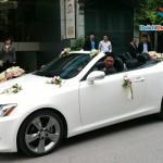 Thuê xe mui trần hiệu Lexus