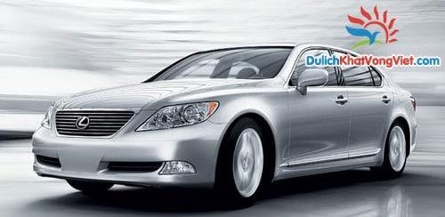 Cho thuê xe VIP Lexus LS460 4 chỗ