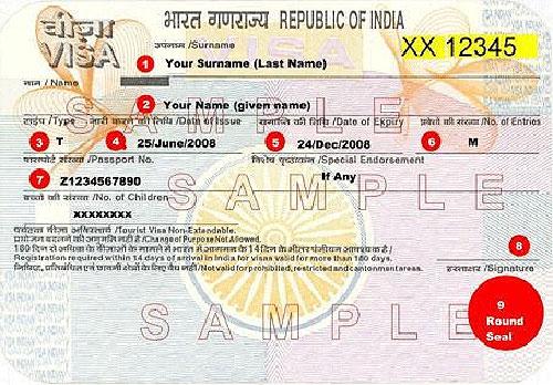 Xin visa đi tham thân ở Ấn Độ (3 tháng 1 lần)