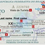 Làm visa đi công tác Brazil