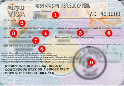 Làm visa đi du học Ấn Độ (3 tháng 2 lần)