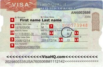 Làm visa đi du lịch Hàn Quốc