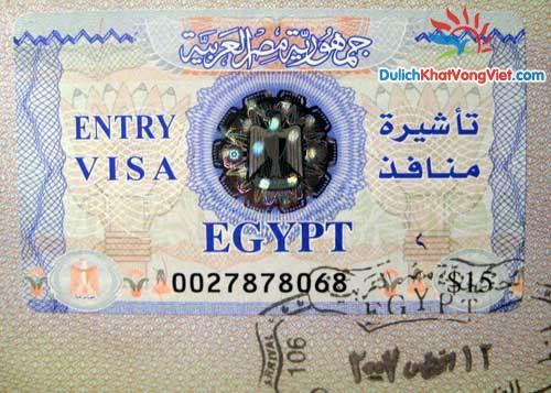 Làm visa Ai Cập đi công tác