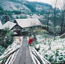 tuyết rơi ở sapa
