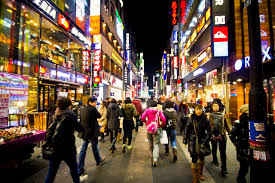 Trung tâm mua sắm Hàn Quốc