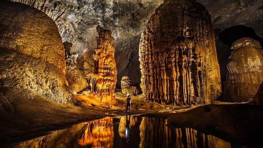 Chốn bồng lai tiên cảnh ngay trong hang