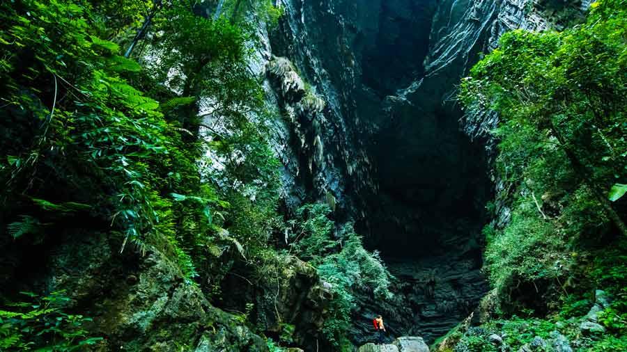 Khung cảnh hùng vĩ của hang Sơn Đoòng