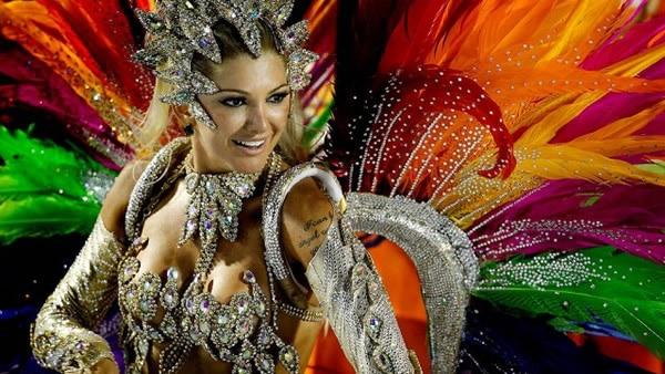 lễ hội carnival và vũ điệu samba - brazil