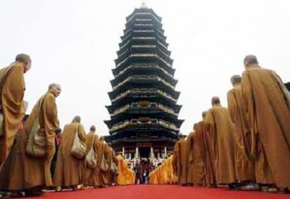 Ngôi chùa cao nhất thế giới tại Trung Quốc