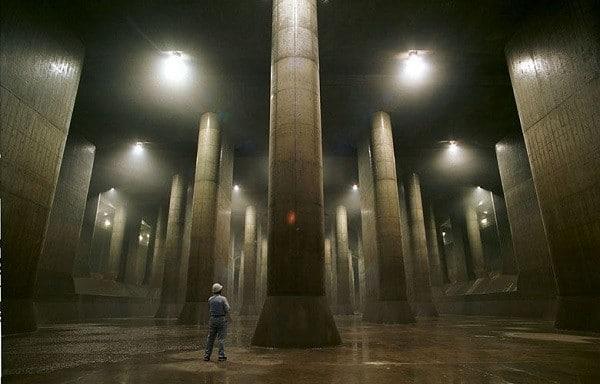 Cống ngầm khổng lồ Nhật Bản