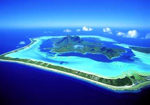 Đảo Bora-Bora thiên đường của Pháp cho các đôi tình nhân