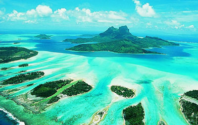 Đảo Bora Bora – thiên đường tại Pháp cho các cặp tình nhân