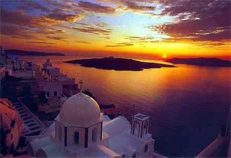 Santorini - hòn đảo thiên thần