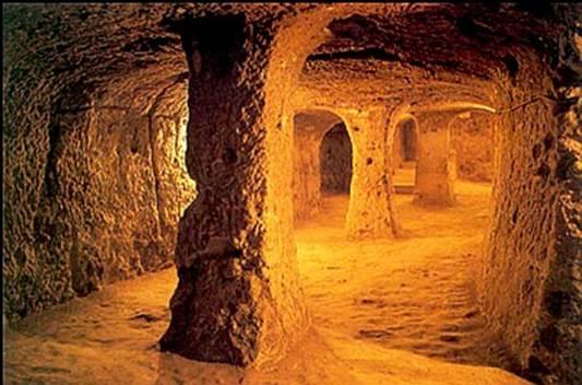 Thành Phố Ngầm Cappadocia