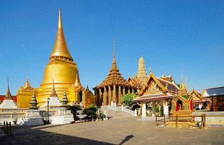 Chùa Phật Vàng Tại Thái Lan