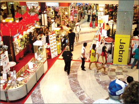 Khung cảnh mua sắm tại Thái Lan