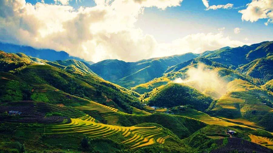 Thung lũng Mường Hoa tươi đẹp