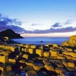 Cột đá bazan- kỳ quan thiên nhiên ở Anh.