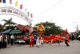 hình ảnh lễ hội Bát Tràng