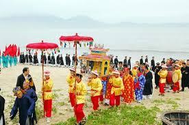 hình ảnh lễ hội cầu ngư