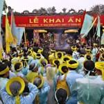 Lễ hội khai ấn đền Trần – Nam Định