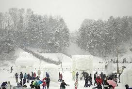 hình ảnh lễ hội núi tuyết Taebaek