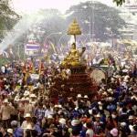 Thái Lan – chào đón năm mới băng lễ hội Songkran( lễ hội té nước)