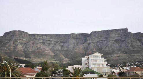 núi nhìn hướng ra Cape Town