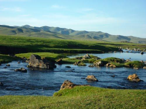 sông orkhon tuyệt đẹp