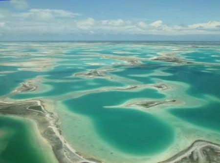 Cảnh chụp quần đảo Phượng Hoàng- Kiribati.