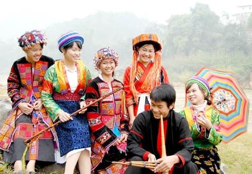Chợ tình Khâu Vai ở Hà Giang